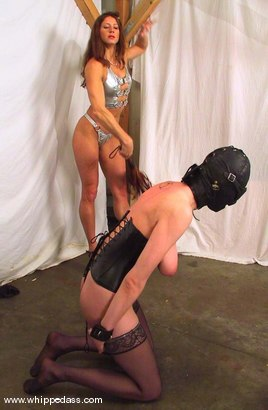 Photo number 11 from Kym Wilde and Lily shot for Whipped Ass on Kink.com. Featuring Kym Wilde and Lily in hardcore BDSM & Fetish porn.