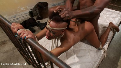 Photo number 4 from Brutal Ass Fucking shot for Fucked and Bound on Kink.com. Featuring Jack Hammer and Nikki Darling in hardcore BDSM & Fetish porn.
