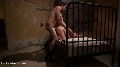 Photo number 14 from Beat Down of a Brat shot for Fucked and Bound on Kink.com. Featuring Maestro and Serena Blair in hardcore BDSM & Fetish porn.