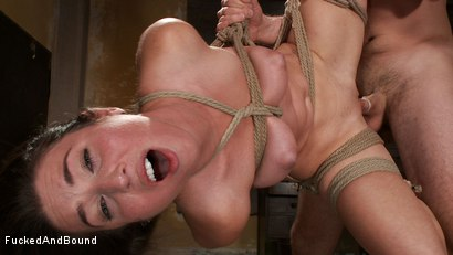 Photo number 17 from Beat Down of a Brat shot for Fucked and Bound on Kink.com. Featuring Maestro and Serena Blair in hardcore BDSM & Fetish porn.