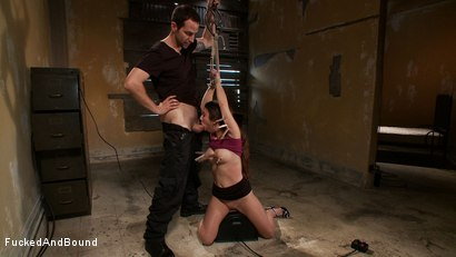 Photo number 5 from Beat Down of a Brat shot for Fucked and Bound on Kink.com. Featuring Maestro and Serena Blair in hardcore BDSM & Fetish porn.