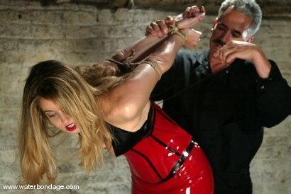 Photo number 2 from Hollie Stevens shot for Water Bondage on Kink.com. Featuring Hollie Stevens in hardcore BDSM & Fetish porn.