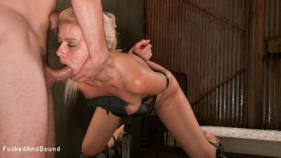 Photo number 13 from Cock Slut Gets Fucked shot for  on Kink.com. Featuring Maestro and Anikka Albrite in hardcore BDSM & Fetish porn.