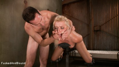 Photo number 14 from Cock Slut Gets Fucked shot for  on Kink.com. Featuring Maestro and Anikka Albrite in hardcore BDSM & Fetish porn.