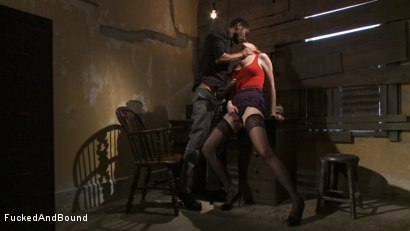 Photo number 2 from Masochistic Seduction shot for  on Kink.com. Featuring Mickey Mod and Mallory Mallone in hardcore BDSM & Fetish porn.