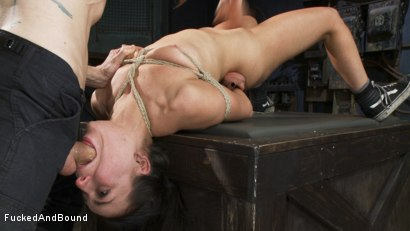 Photo number 13 from Fucked Hard and Put up Wet shot for Brutal Sessions on Kink.com. Featuring Owen Gray and Juliette March in hardcore BDSM & Fetish porn.