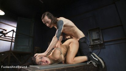 Photo number 14 from Fucked Hard and Put up Wet shot for Brutal Sessions on Kink.com. Featuring Owen Gray and Juliette March in hardcore BDSM & Fetish porn.