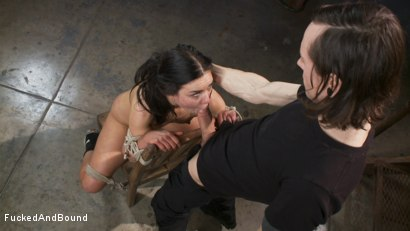 Photo number 5 from Fucked Hard and Put up Wet shot for Brutal Sessions on Kink.com. Featuring Owen Gray and Juliette March in hardcore BDSM & Fetish porn.