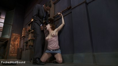 Photo number 1 from Audrey Hollander's Fantasy Unfolds shot for Fucked and Bound on Kink.com. Featuring Mickey Mod and Audrey Hollander in hardcore BDSM & Fetish porn.