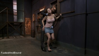 Photo number 2 from Audrey Hollander's Fantasy Unfolds shot for Fucked and Bound on Kink.com. Featuring Mickey Mod and Audrey Hollander in hardcore BDSM & Fetish porn.