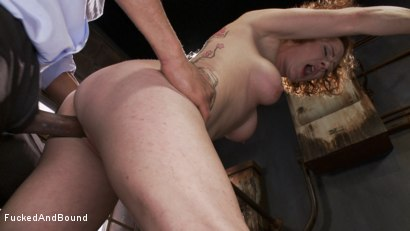Photo number 12 from Audrey Hollander's Fantasy Unfolds shot for Fucked and Bound on Kink.com. Featuring Mickey Mod and Audrey Hollander in hardcore BDSM & Fetish porn.