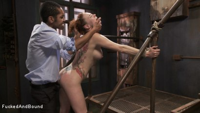 Photo number 13 from Audrey Hollander's Fantasy Unfolds shot for Fucked and Bound on Kink.com. Featuring Mickey Mod and Audrey Hollander in hardcore BDSM & Fetish porn.