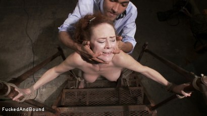 Photo number 4 from Audrey Hollander's Fantasy Unfolds shot for Fucked and Bound on Kink.com. Featuring Mickey Mod and Audrey Hollander in hardcore BDSM & Fetish porn.