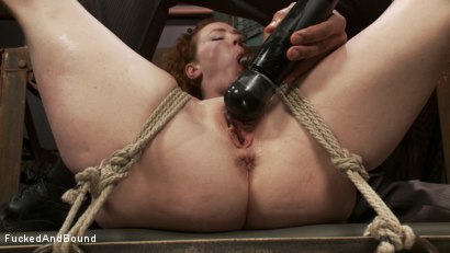 Photo number 5 from Audrey Hollander's Fantasy Unfolds shot for Fucked and Bound on Kink.com. Featuring Mickey Mod and Audrey Hollander in hardcore BDSM & Fetish porn.