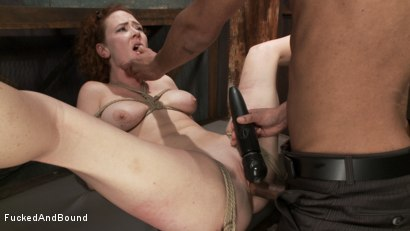 Photo number 6 from Audrey Hollander's Fantasy Unfolds shot for Fucked and Bound on Kink.com. Featuring Mickey Mod and Audrey Hollander in hardcore BDSM & Fetish porn.