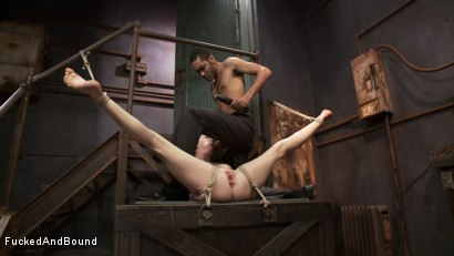 Photo number 7 from Audrey Hollander's Fantasy Unfolds shot for Fucked and Bound on Kink.com. Featuring Mickey Mod and Audrey Hollander in hardcore BDSM & Fetish porn.