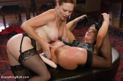 Photo number 7 from In full Bloom: The Rosebud Fixation shot for Everything Butt on Kink.com. Featuring Amy Brooke and Audrey Hollander in hardcore BDSM & Fetish porn.