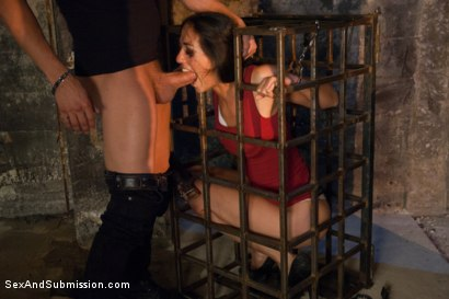 Photo number 1 from Desperate Acts of Submission shot for Sex And Submission on Kink.com. Featuring Xander Corvus and Lyla Storm in hardcore BDSM & Fetish porn.