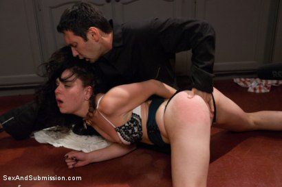 Photo number 3 from Cheating Wife Tossed Around and Fucked in the Ass: Juliette March and Tommy Pistol  shot for Sex And Submission on Kink.com. Featuring Tommy Pistol and Juliette March in hardcore BDSM & Fetish porn.