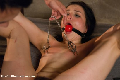 Photo number 8 from Cheating Wife Tossed Around and Fucked in the Ass: Juliette March and Tommy Pistol  shot for Sex And Submission on Kink.com. Featuring Tommy Pistol and Juliette March in hardcore BDSM & Fetish porn.
