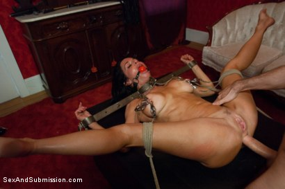 Photo number 12 from The Informant starring Veronica Avluv shot for sexandsubmission on Kink.com. Featuring James Deen and Veronica Avluv in hardcore BDSM & Fetish porn.