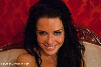 Photo number 15 from The Informant starring Veronica Avluv shot for Sex And Submission on Kink.com. Featuring James Deen and Veronica Avluv in hardcore BDSM & Fetish porn.
