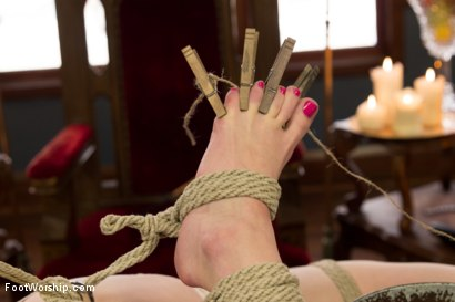 Photo number 5 from Lesbian Foot Torture shot for Foot Worship on Kink.com. Featuring Aiden Starr and Veruca James in hardcore BDSM & Fetish porn.