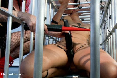 Photo number 12 from Audrey Hollander and Mz Berlin Get Worshipped, Electrosluts Style! shot for Electro Sluts on Kink.com. Featuring Mz Berlin, Bianca Stone and Audrey Hollander in hardcore BDSM & Fetish porn.