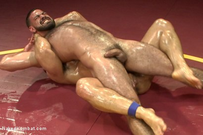 "Photo number 6 from Marcus ""Titan"" Ruhl vs Ricky ""The Legend"" Larkin - Oiled Up Muscle   shot for Naked Kombat on Kink.com. Featuring Marcus Ruhl and Ricky Larkin in hardcore BDSM & Fetish porn."