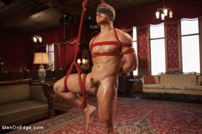 Photo number 15 from Bushy Blond Pubic Hair shot for Men On Edge on Kink.com. Featuring Logan Vaughn in hardcore BDSM & Fetish porn.