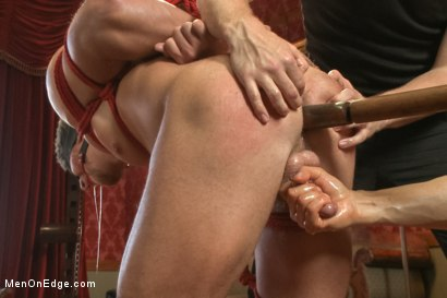 Photo number 10 from Bushy Blond Pubic Hair shot for Men On Edge on Kink.com. Featuring Logan Vaughn in hardcore BDSM & Fetish porn.