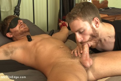 Photo number 6 from Bushy Blond Pubic Hair shot for Men On Edge on Kink.com. Featuring Logan Vaughn in hardcore BDSM & Fetish porn.