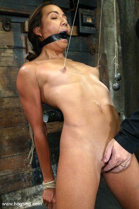 Photo number 7 from Keeani Lei shot for Hogtied on Kink.com. Featuring Keeani Lei in hardcore BDSM & Fetish porn.