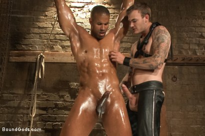Photo number 12 from Christian Wilde beats, torments, and fucks his body builder captive shot for Bound Gods on Kink.com. Featuring Christian Wilde and Robert Axel in hardcore BDSM & Fetish porn.