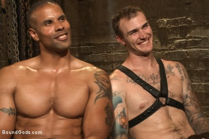 Photo number 15 from Christian Wilde beats, torments, and fucks his body builder captive shot for Bound Gods on Kink.com. Featuring Christian Wilde and Robert Axel in hardcore BDSM & Fetish porn.