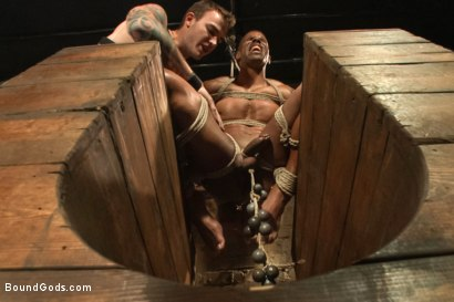 Christian Wilde beats, torments, and fucks his body builder captive