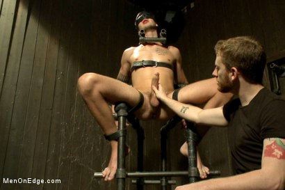 Photo number 10 from 9 inch Cock Edged in Metal Bondage shot for Men On Edge on Kink.com. Featuring Jay Cloud in hardcore BDSM & Fetish porn.