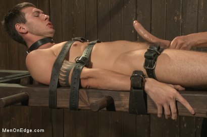 Photo number 13 from 9 inch Cock Edged in Metal Bondage shot for Men On Edge on Kink.com. Featuring Jay Cloud in hardcore BDSM & Fetish porn.