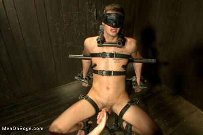 Photo number 8 from 9 inch Cock Edged in Metal Bondage shot for Men On Edge on Kink.com. Featuring Jay Cloud in hardcore BDSM & Fetish porn.