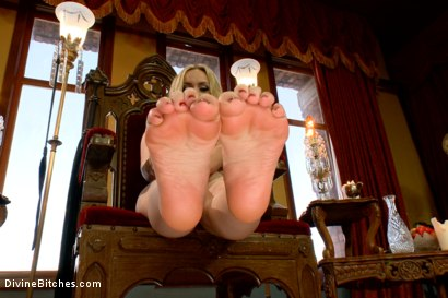 Photo number 15 from FemDom Foot Fetish POV shot for Divine Bitches on Kink.com. Featuring Aiden Starr in hardcore BDSM & Fetish porn.