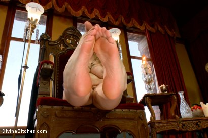 Photo number 9 from FemDom Foot Fetish POV shot for Divine Bitches on Kink.com. Featuring Aiden Starr in hardcore BDSM & Fetish porn.