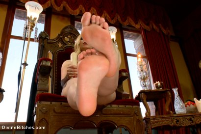 Photo number 12 from FemDom Foot Fetish POV shot for Divine Bitches on Kink.com. Featuring Aiden Starr in hardcore BDSM & Fetish porn.