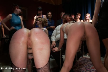 Photo number 11 from Armory Disgrace! Ginger and Big Booty Ho Search For Dick shot for Public Disgrace on Kink.com. Featuring Lorelei Lee, Alyssa Branch and Tina Horn in hardcore BDSM & Fetish porn.