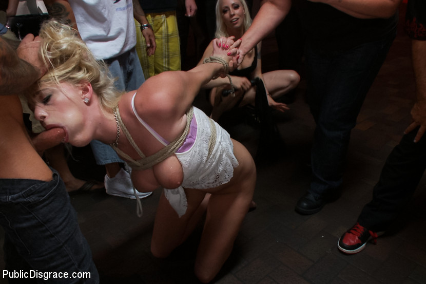 Bizarre female public domination