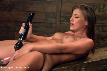 Photo number 3 from 5 foot 8 inches of hotness - The Mega Sexy Athlete, Rilynn Rae shot for Fucking Machines on Kink.com. Featuring Rilynn Rae in hardcore BDSM & Fetish porn.