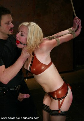 Photo number 4 from Adrianna Nicole and Van Damage shot for Sex And Submission on Kink.com. Featuring Adrianna Nicole and Van Damage in hardcore BDSM & Fetish porn.