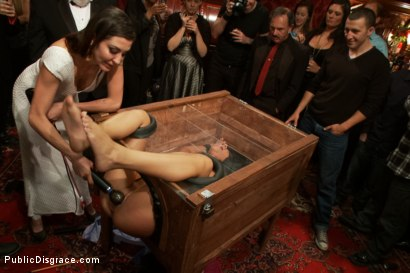 Photo number 3 from 21 yr old Hottie Submits to Hard Fucking and Humiliation shot for Public Disgrace on Kink.com. Featuring Adriana Chechik and Astral Dust in hardcore BDSM & Fetish porn.