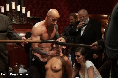 Photo number 5 from 21 yr old Hottie Submits to Hard Fucking and Humiliation shot for Public Disgrace on Kink.com. Featuring Adriana Chechik and Astral Dust in hardcore BDSM & Fetish porn.