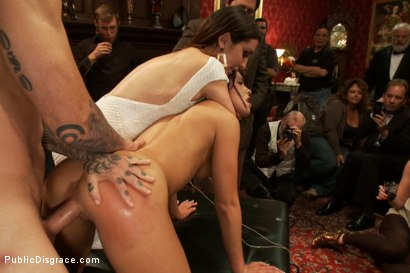 Photo number 8 from 21 yr old Hottie Submits to Hard Fucking and Humiliation shot for Public Disgrace on Kink.com. Featuring Adriana Chechik and Astral Dust in hardcore BDSM & Fetish porn.
