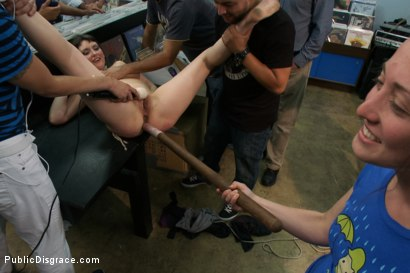 Photo number 6 from Pro Domme Submits for the First Time - In Public! shot for Public Disgrace on Kink.com. Featuring Terra Incognita and Tommy Pistol in hardcore BDSM & Fetish porn.